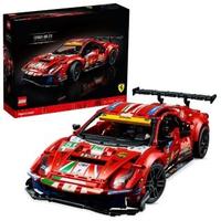 "【LEGO 樂高】科技系列 Ferrari 488 GTE""AF Corse #51""42125 賽車 法拉利(42125)"