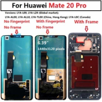 for Huawei Mate 20 Pro LCD Display with frame Touch Screen Digitizer Assembly Mate 20Pro for Huawei Mate 20 LCD Mate20 Pro