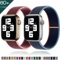 สำหรับ Apple Watch Band 38มม.40มม.42มม.44มม.Smartwatch Watchband Correa กีฬาไนลอนห่วงเข็มขัดสร้อยข้อมือ IWatch Series 4 5 SE 6