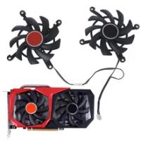 85mm 4pin Tomahaw Geforce GTX 1650 Super GPU Fan for Colorful Geforce RTX 2060 Super GTX 1660 Super 1660ti Cooling Fans