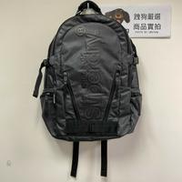 跩狗嚴選 極度乾燥 Superdry 經典 Tarp 全黑 Logo 防水 後背包 背包 書包 15吋 筆電包 登山包
