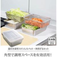 日本製Arnest不鏽鋼濾網保鮮盒組