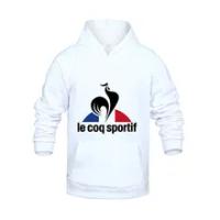 Jaket Hoodie Musim Gugur Musim Dingin Sportif Le Coq Motif Le Coq Hoodie Pullover Olahraga Kasual Saku Besar Pakaian Merek Homme