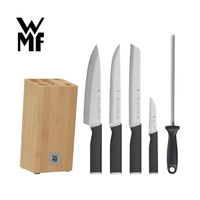 【WMF】KINEO 刀具六件套組  含刀座 / 磨刀器(德國製)