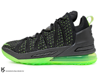 2021 NBA 最新款 LeBRON JAMES 最新代言 NIKE LEBRON XVIII EP LBJ 18 DUNKMAN 螢光綠 灌籃人 湖人 全新 KNITPOSITE 2.0 飛織鞋面 全掌 ZOOM AIR 後 MAX AIR 氣墊 小皇帝 雷霸龍 KING 頂級科技 籃球鞋 (CQ9284-005) 0121