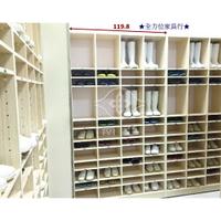 ★全方位★全新4x7尺南亞塑鋼 食品廠雨鞋櫃[ 桃園滿5000元免運 ]