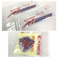 【JUST醬家】KYMCO 原廠 英倫 MANY 110 前盾貼紙 側蓋貼紙 面板貼紙 LOGO 貼紙