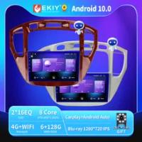 EKIY 6 + 128G DSP Autoradio Android 10 untuk Toyota Rush/ DAIHATSU TERIOS Radio Mobil GPS Multimedia Blu-ray IPS Peningkatan QLED No 2DIN
