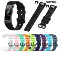 潮流男人館⌚适用于華為手環3 pro 華為band 3/華為4pro表帶智能手表替換腕帶