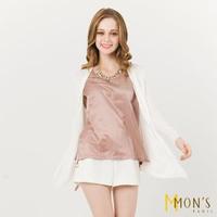 【MON'S】質感百搭遮陽針織外套