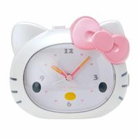 Hello Kitty大臉造型會說話的鬧鐘/時鐘/指針時鐘