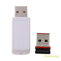 FUN 新的USB接收器的無線收發器接收器USB適配器羅技鼠標鍵盤連接