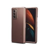 Spigen Thin Fit 手機保護殼 適用Samsung Galaxy Z Fold 2 黑/銅 [2美國直購]