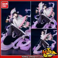 """100% Original BANDAI SPIRITS Figuarts ZERO Action Figure - Shinobu Kocho แมลงการหายใจจาก """"Demon Slayer: kimetsu ไม่มี Yaiba"""""""