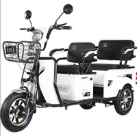 免運品質可靠·電動三輪車成人老人代步車鋰電池小型電瓶車·超強動力(購買前務必先聯繫店家line:sy0255962404)