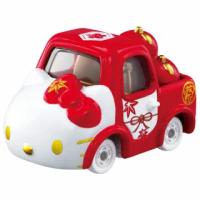 【TOMICA】Dream TOMICA Hello Kitty和服系列-紅(小汽車)