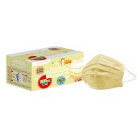 萊潔 醫療防護成人口罩-蜜粉黃(50片入/盒)(衛生用品,恕不退貨,無法接受者勿下單)