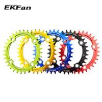 High Quality EKFan 104BCD Bicycle Chain ring 32T/34T/36T Narrow Wide Round Oval Cycle Chainwheel 7075-T6 MTB Bike chain wheel