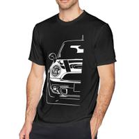 最新時尚Fqlwl Mini Cooper S Bmc Rally蒙特卡洛圓領短袖T恤