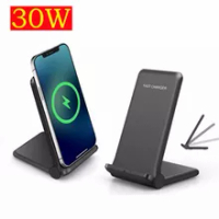 30W Qi Wireless Charger Induction Fast Charging Pad for Huawei Mate 40 Pro Mate 30 Pro P30 Pro P40 Pro+ Mate20 Pro Honor V30 Pro