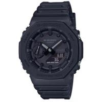 【CASIO 卡西歐】G-SHOCK 農家八角衝力腕錶(GA-2100-1A1)