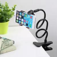Universal Cell Phone Holder Lengan Panjang Fleksibel Malas Ponsel Pemegang Clamp Bed Tablet Mobil Mount Braket untuk iPhone X X samsung