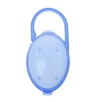 1PCS เด็ก Solid Pacifier กล่องจุกนมหลอกคอนเทนเนอร์ผู้ถือ Pacifier กล่องกระเป๋าเดินทางปลอดภัยผู้ถือ Pacifier กล่อง...