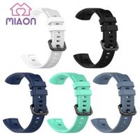 華為 Miaon Soft Tpu 手錶帶手鍊腕帶更換, 適用於 Huawei Band 3 Pro