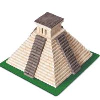 【WISE ELK】DIY天然陶瓷磚建築套裝(瑪雅金字塔 750片)
