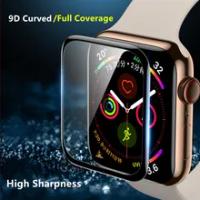 กระจกนิรภัยสำหรับ Apple 5 4 3 Se 6 IWatch 38Mm 42Mm 9D HD สำหรับ applewatch อุปกรณ์เสริมหน้าจอ Protector 40มม.44มม.