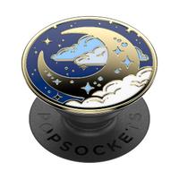 【PopSockets 泡泡騷】時尚手機氣囊伸縮支架 二代 可替換 美國 No.1(飛奔到月球)