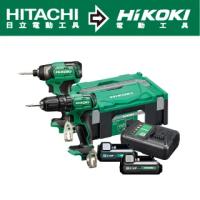 【HIKOKI】12V充電式震動電鑽DV12DA+衝擊起子WH12DA雙機組(KC12DA)