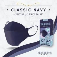 【久富餘】KF94韓版4層立體醫療口罩-雙鋼印(魔力歐若拉10片/盒X4)