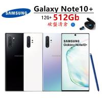 全新未拆台灣公司Samsung Galaxy Note10+ 12G/256G也有512G 6.8吋 N9750雙卡雙待 三星Pay支援悠遊卡 台灣公司保固18個月