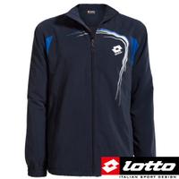 金英鞋坊~義大利第一品牌-LOTTO樂得 男款抗UV防風運動外套 [64660] 深藍 超值價$590元