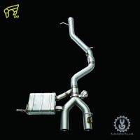 IPE 高流量帶三元催化頭段 當派 排氣管 Golf R MK6 底盤系統【YGAUTO】