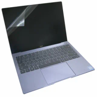 【Ezstick】華為 HUAWEI MateBook X Pro 靜電式筆電LCD液晶螢幕貼(可選鏡面或霧面)