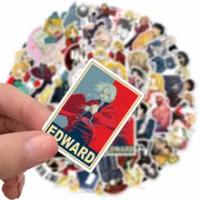 10/30/50PCS ญี่ปุ่นสติกเกอร์อะนิเมะ Fullmetal Alchem Ist แล็ปท็อป Suitcasee กระเป๋าเดินทางกีตาร์ของเล่นเด็กของขวัญร...