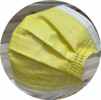 【MIT】翔緯醫用口罩 -歐妮/夏日和風清新印花黃 ☆ 雙鋼印 ☆ 成人醫療口罩50入盒裝(7-11/全家取貨滿499元免運)