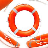 【快速出貨】救生圈 救生圈船用 專業 大人實心泡沫兒童救生圈船檢CCS認證ccs 標準型