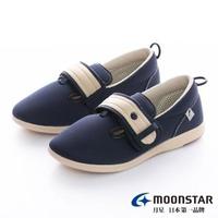 【MOONSTAR 月星】Pastel介護鞋(深藍)