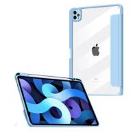 【Mass】iPad Pro 12.9 吋 2021 / 2020 磁吸透明背蓋系列保護套 帶筆槽(iPad Pro / iPad Pro 保護套)