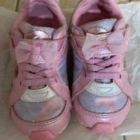 二手moonstar粉紅色兒童鞋15公分