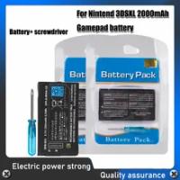 2000mAh Replacement Battery For Nintend 3DS LL/XL 3DSLL 3DSXL NEW 3DSLL NEW 3DSXL new3dsll new3ds xl Rechargeable Li-ion Battery