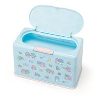 日貨 雙子星 夜空 口罩收納盒 口罩 收納盒 KIKI LALA TS 三麗鷗 Sanrio 正版 L00010817