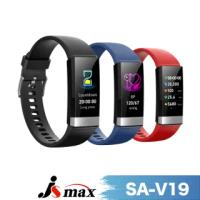 【JSmax】SA-V19超智能AI健康運動管理手環(24H動態監測健康管理)