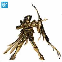 18ซม.Saint Seiya Saint Cloth Myth Ex Sagittarius Seiya Gold24 24K เกราะ Original Bandai อะนิเมะอะนิเมะ Action Figure ของเล่นสำหรับเด็ก