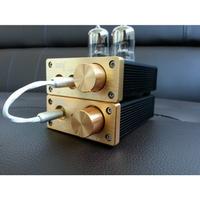 真空管擴大機【川木】全新現貨【P137】Tube-mini u808 + U206 USB DAC 耳機擴大機 耳擴 電