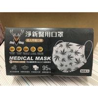 淨新 成人平面醫療口罩~30入 【楓葉系列】MIT台灣製 MD雙鋼印