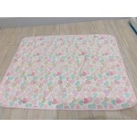 隔尿墊 my dna 防水墊尿布墊 粉紅愛心 台灣製 80*60公分 嬰兒尿布墊 攜帶型 防水墊 熊本部 女寶 可愛圖案